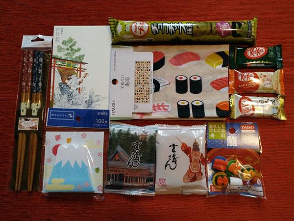 Souvenirs Japón - Con Algas en la Maleta