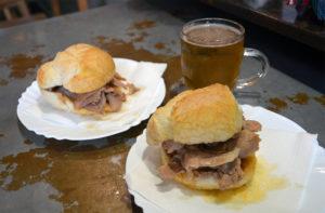 Bifanas Comer en Oporto - Con Algas en la Maleta