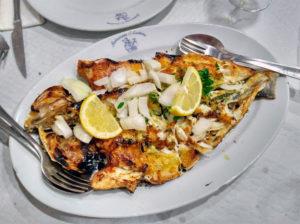 Comer en Oporto - Con Algas en la Maleta - Pescado Matosinhos