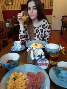 Desayuno en St Valery