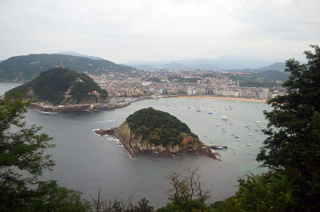 Vistas desde el Monte Igueldo